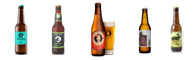 Cervezas artesanas sin gluten de España