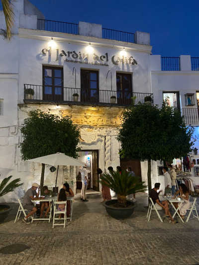 """Restaurante """"El jardín del Califa"""" Vejer sin gluten"""
