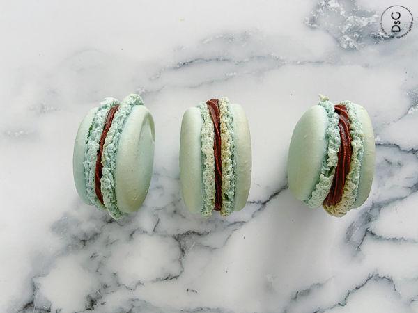 receta de macarons sin gluten con merengue italiano