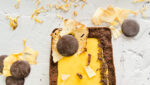 Tarta de crema de piña