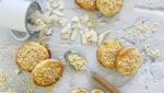 Galletas de almendra, coco y manzana