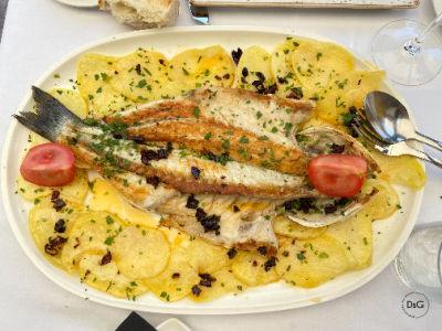 Lubina restaurante Don Mérito
