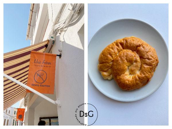 Pastelería y panadería LLuis Febres 100% sin gluten Menorca