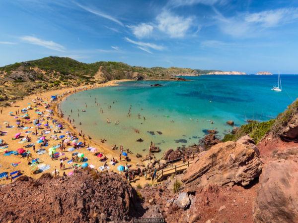 Playa Cavallería, Menorca